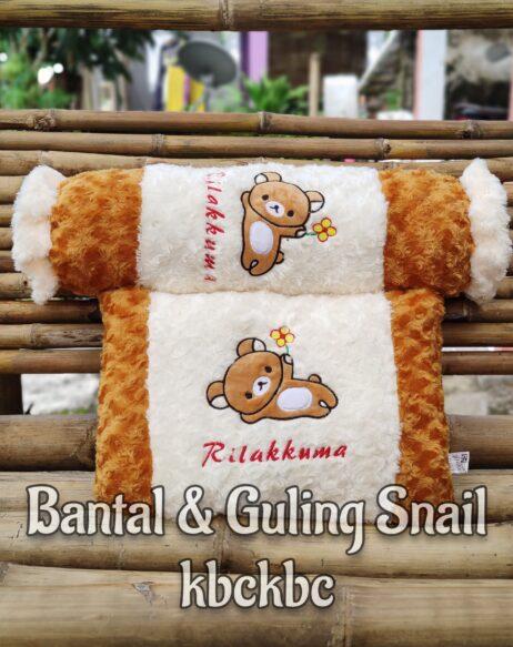 BANTAL-DAN-GULING-SNAIL-RILAKUMA-2