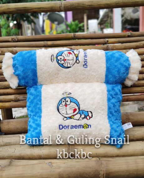 BANTAL-GULING-SNAIL-DORAEMON-1